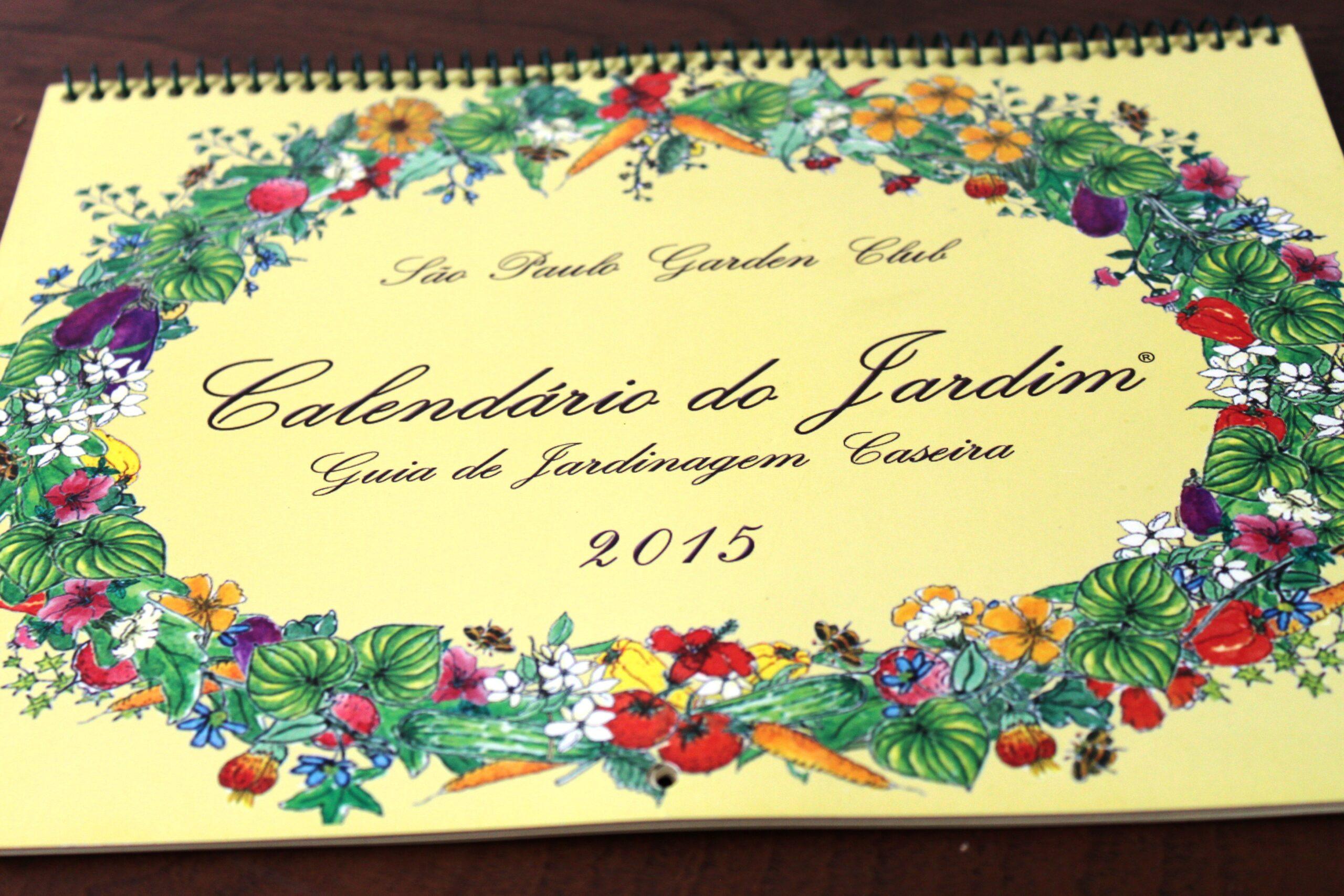 Calendário do Jardim: Guia de Jardinagem Caseira