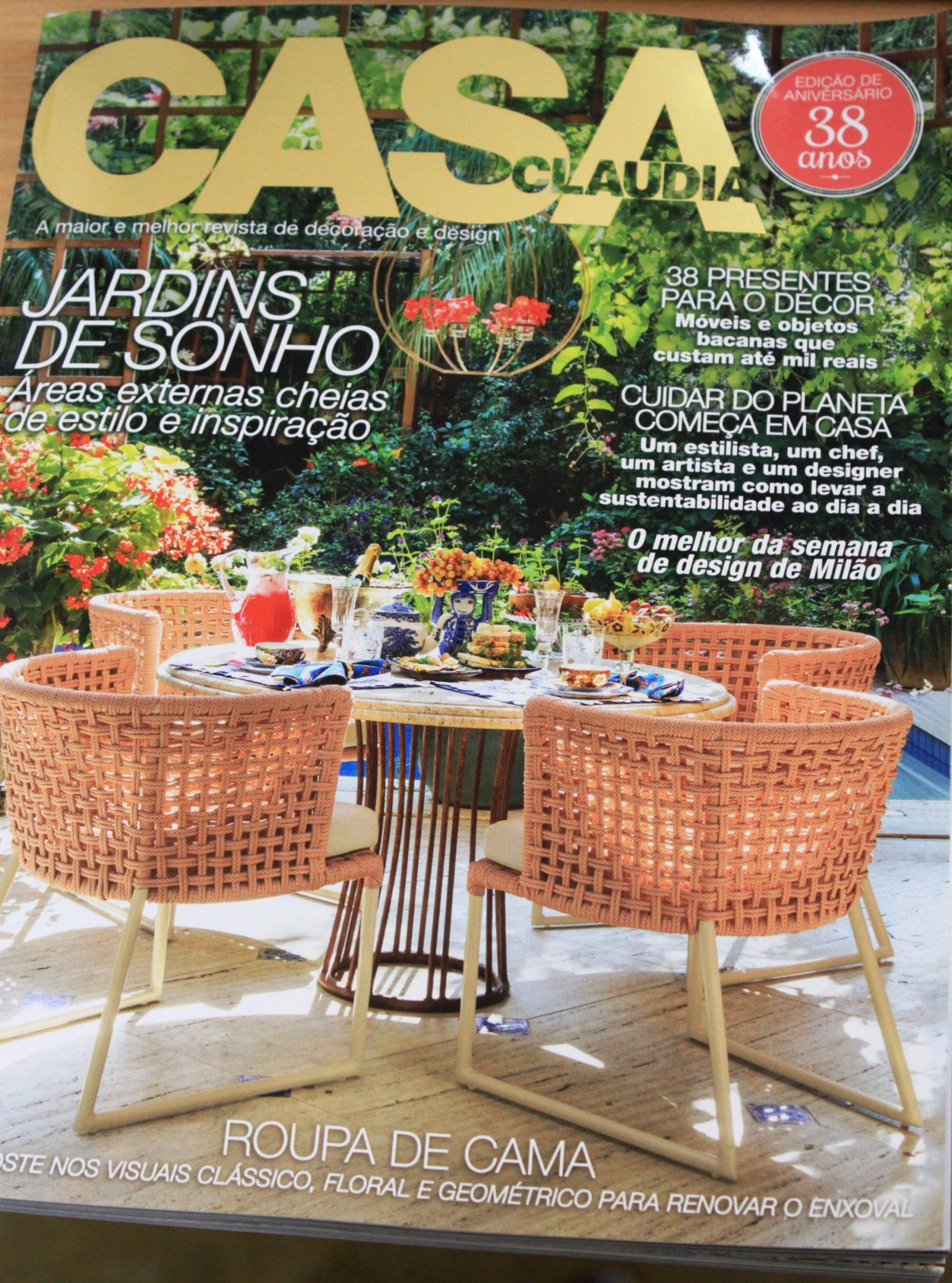 Sabor de Fazenda na Revista Casa Claudia – Edição de Aniversário