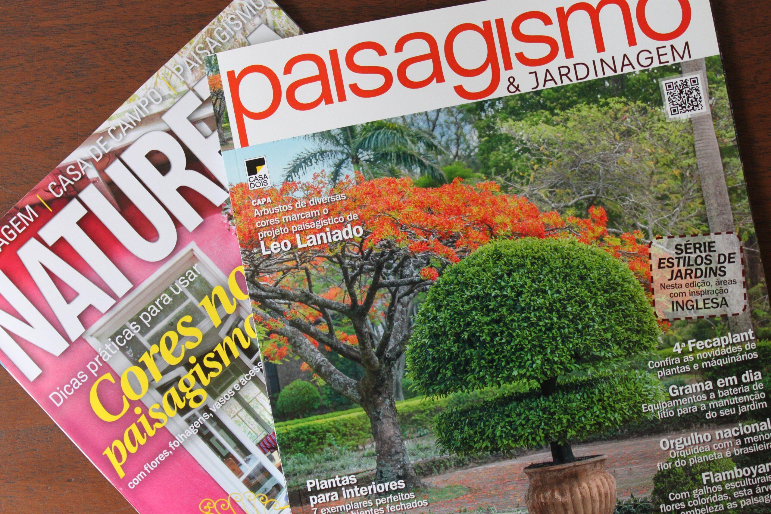 Dica de Leitura: Revistas Natureza e Paisagismo e Jardinagem