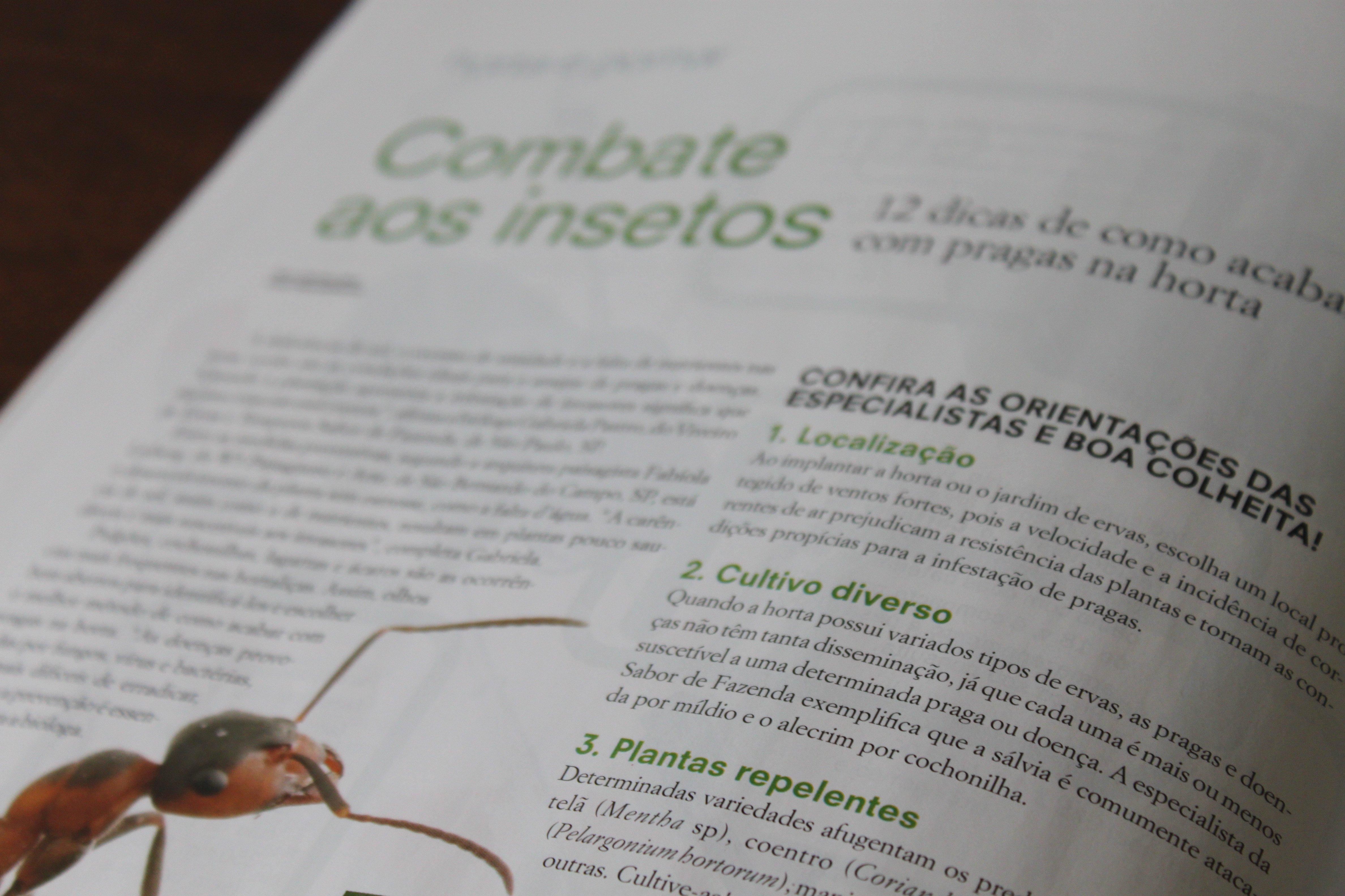 Revista Paisagismo e Jardinagem