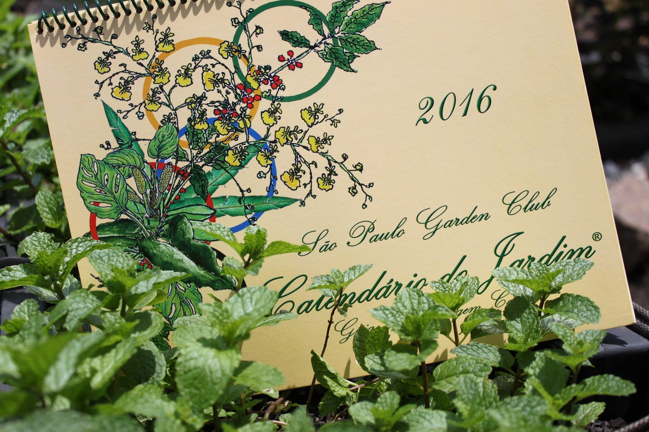 Calendário do Jardim 2016