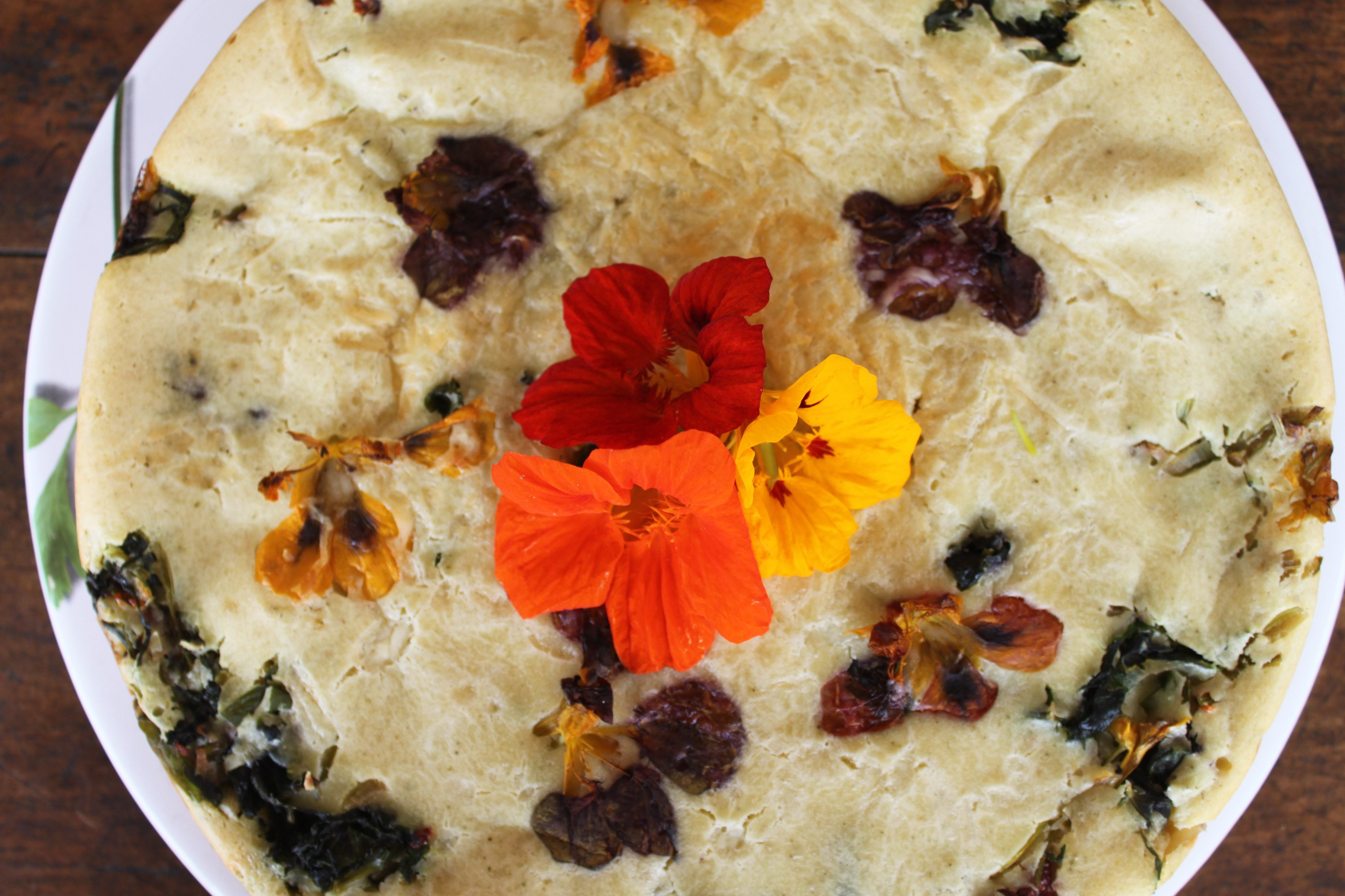 Torta de capuchinha ©Sabor de Fazenda